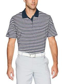 adidas 1247 Men's Ultimate 3 Stripe Polo Athletic Golf Casua