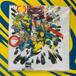 1994 X-men Large Shirt Marvel Wolverine Cable Magneto Coloss