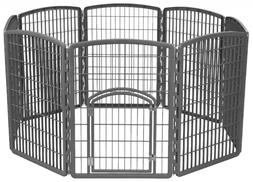 IRIS Exercise 8 Panel Pen Panel Pet Playpen with Door - 34 I