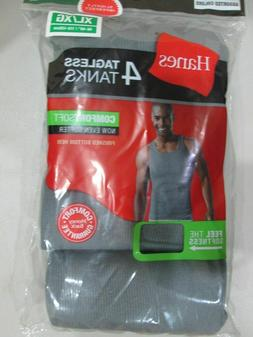 4 pack hanes mens grey a shirt choose your size