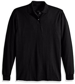 Jerzees 50/50 Long-Sleeve Jersey Polo with SpotShield, 2XL,