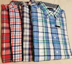 $75 NEW NWT NAUTICA MEN'S BIG & TALL BUTTON UP FRONT SHIRT S