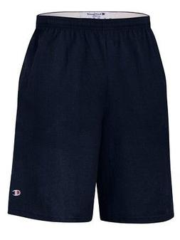 "Champion - 9"" Inseam Cotton Jersey Shorts with Pockets - 818"