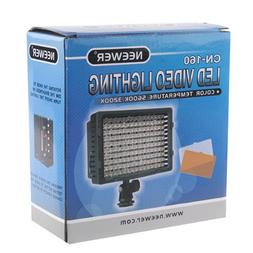 NEEWER 160 LED CN-160 Dimmable Ultra High Power Panel Digita