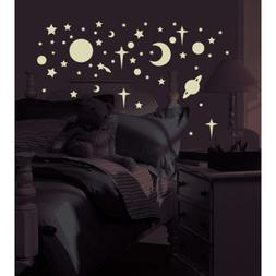 RoomMates - Glow-in-the-Dark Celestial Peel & Stick Wall Dec