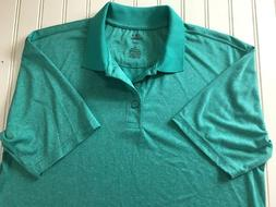 Haggar Athletic Golf Shirt Mens S Cool 18 Performance Stretc