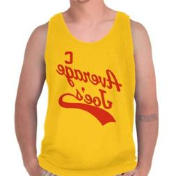 Average Joes Gym Athletic Funny Comedy Movie Adult Tank Top