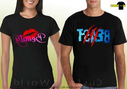 Beauty Beast Matching Shirts Couple T-shirts His And Hers Ma