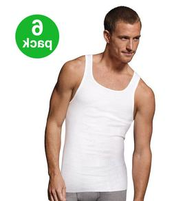 BEST VALUE Men's Tank Top PACK OF 6 Athletic A-shirt Wife Be