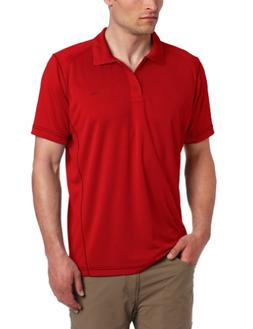 Columbia Men's Big Blasting Cool Polo-Extended, Rocket/Grill