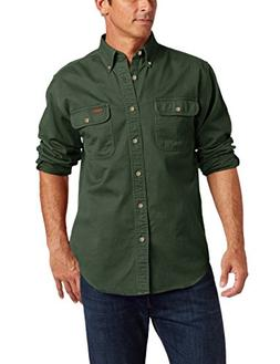 Carhartt Men's Big & Tall Oakman Work Shirt,Moss,XXX-Large