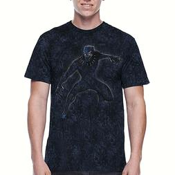 Black Panther Men's Graphic Washed Tee M 34-36 New W/ Tags F