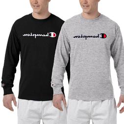 Brand New Classic Champion Men's Long Sleeve T Shirt