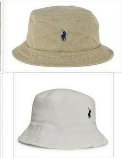 Brand New With Tags Polo Ralph Lauren Logo Bucket Fishing Be