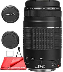 Canon EF 75-300mm f/4-5.6 III Zoom Lens for Canon EOS 7D, 60