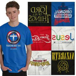 Christian Tee Shirt Religious T Shirts For Mens Pop Culture