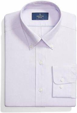 BUTTONED DOWN Classic Fit Button-Collar Solid Non-Iron Dress