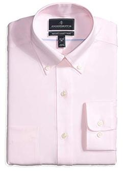 Buttoned Down Men's Classic Fit Button Collar Solid Non-Iron