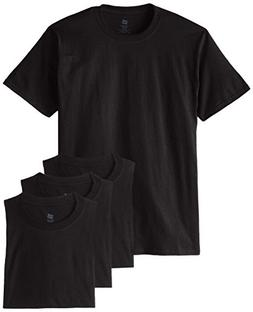 Hanes Men's Comfortsoft T-Shirt ,Black,Medium