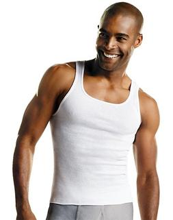 Hanes ComfortSoft TAGLESS Men's Big & Tall Tank Undershirt 3