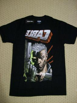 Marvel Comic Cable T-Shirt Authentic Licensed S Size: Small,