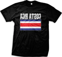 Costa Rica Flag Rican Tico National Pride World Cup Mens T-s