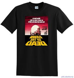 DAWN OF THE DEAD T SHIRT 1978 4k bluray cover poster SMALL M