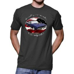 Dodge Charger R/T American Muscle Men`s Dark T-Shirt