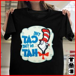 Dr. Seuss The Cat in the Hat Men And Women Shirt Size S-5XL