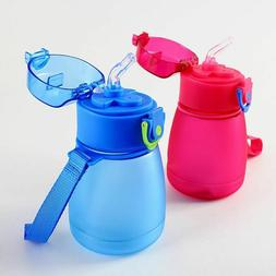 Drinking Bottles Gifts For Kids Plastic Water With Rope Crea