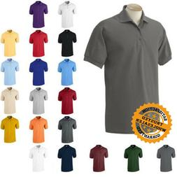 Gildan DryBlend Mens Polo Shirt Jersey T-Shirt All Colors 88