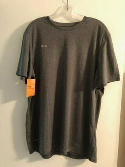 C9 Champion Duo Dry Charcoal Mens Athletic T-shirt Size XL.