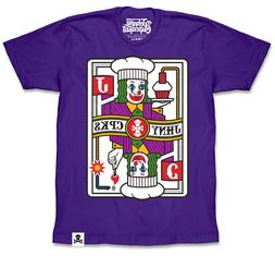 EXCLUSIVE Johnny Cupcakes  T-Shirt: Prankster Playing Card