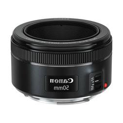 Canon 50 mm f/1.8 Fixed Focal Length Lens for EF