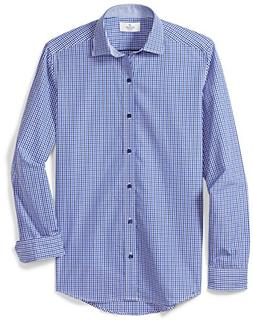 BUTTONED DOWN Men's Fitted Supima Cotton Spread-Collar Dress