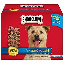 Milk-Bone Flavor Snacks  Dog Treat, Small/Medium Biscuits, 7