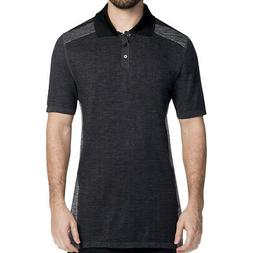 Skechers GoGolf Seamless Polo Golf Shirt,  Small Charcoal