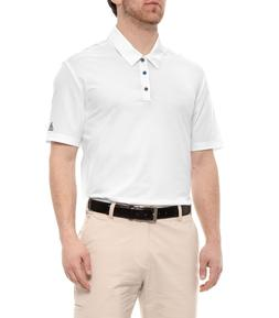 Adidas Golf Men's Ultimate 365 Solid Polo Shirt, New White L