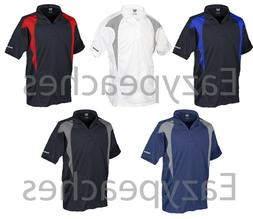REEBOK GOLF NEW Mens Size S-XL 2XL 3XL 4XL 5XL ColorBlock Dr