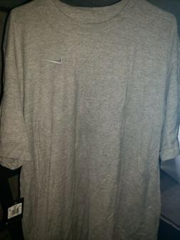 Grey Nike Mens Shirt large