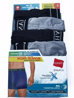 "Hanes® Men's ULTIMATE X-TEMP AIR 4-Pack BOXER BRIEFS   ""Fre"