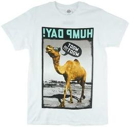 Hump Day T-Shirt White Funny Camel Parody Top Mens