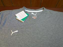 Puma Iconic V-Neck Tee  Grey  DryCell  T-Shirt  XL  New With