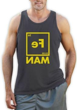 Iron Fe Man - Funny Chemistry Periodic Element Singlet Geeky