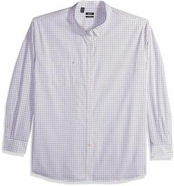 IZOD Men's CLEARANCE Slim Button Down Long Sleeve Stretch Pe