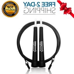 Jump Rope - Best for Speed Jumping, Double Unders, WOD, MMA,