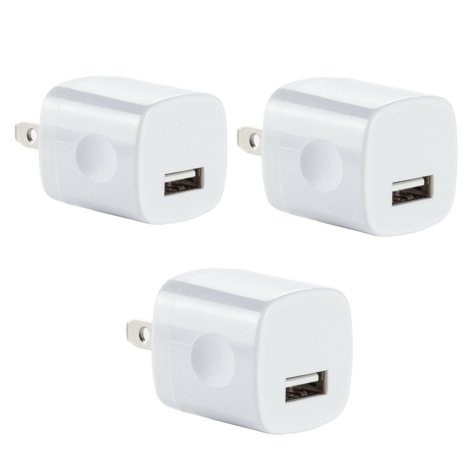 3x USB Wall Charger Power Adapter AC Home US Plug FOR iPhone
