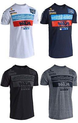 Troy Lee Designs 2018 KTM Go Pro Team Licensed T-Shirt Mens