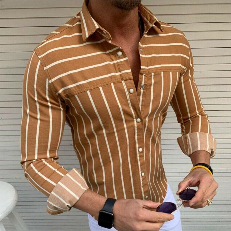 2019 Summer <font><b>Men's</b></font> Slim Fit Casual Tops