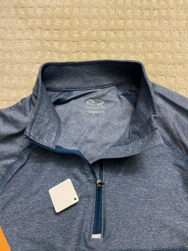 2x C9 1/4 Zip Shirt New Gray Pullover
